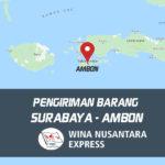 Pengiriman Barang Surabaya Ambon