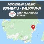 Pengiriman Barang Surabaya Balikpapan