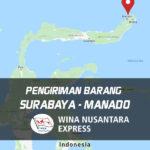 Pengiriman Barang Surabaya Manado