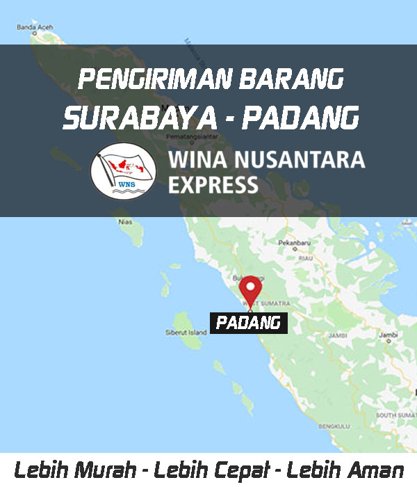 Pengiriman Barang Surabaya Padang