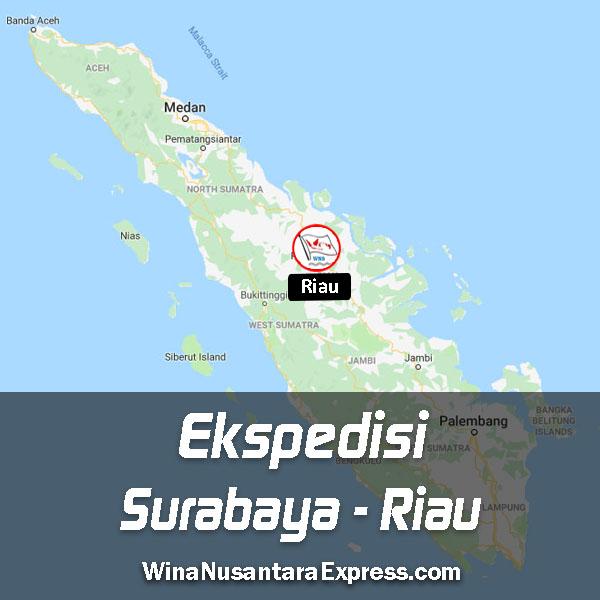 Ekspedisi Surabaya Riau