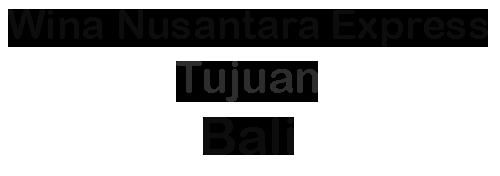 Ekspedisi ke Bali