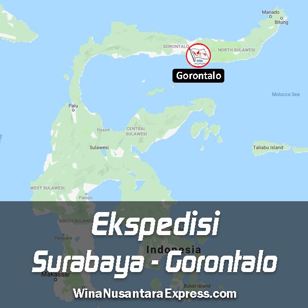 ekspedisi surabaya gorontalo