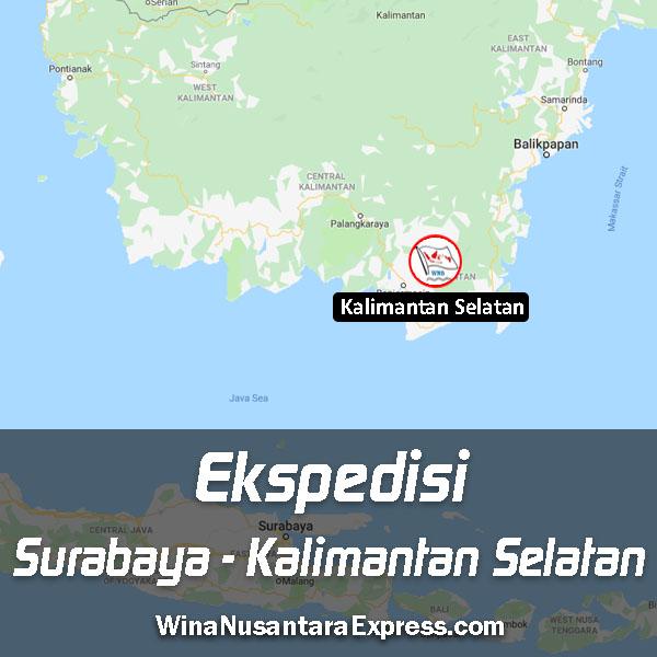 Ekspedisi Surabaya Kalimantan Selatan