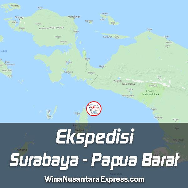 ekspedisi surabaya papua barat