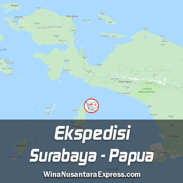 ekspedisi surabaya papua