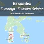 ekspedisi surabaya sulawesi selatan