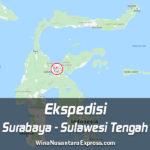 Ekspedisi Surabaya Sulawesi Tengah
