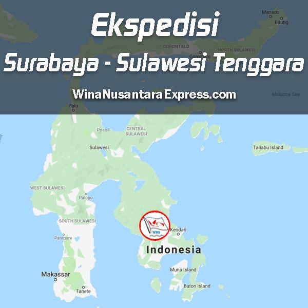 ekspedisi surabaya sulawesi tenggara